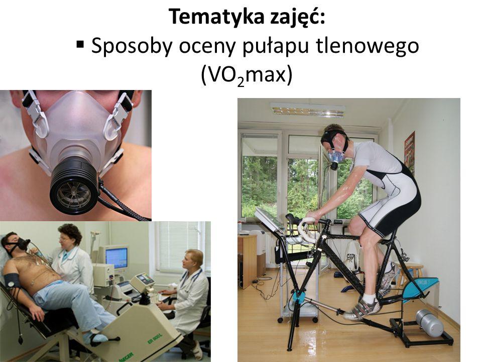 Sposoby oceny pułapu tlenowego (VO2max)