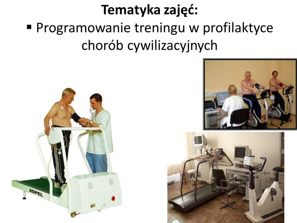 Programowanie treningu w profilaktyce chorób cywilizacyjnych