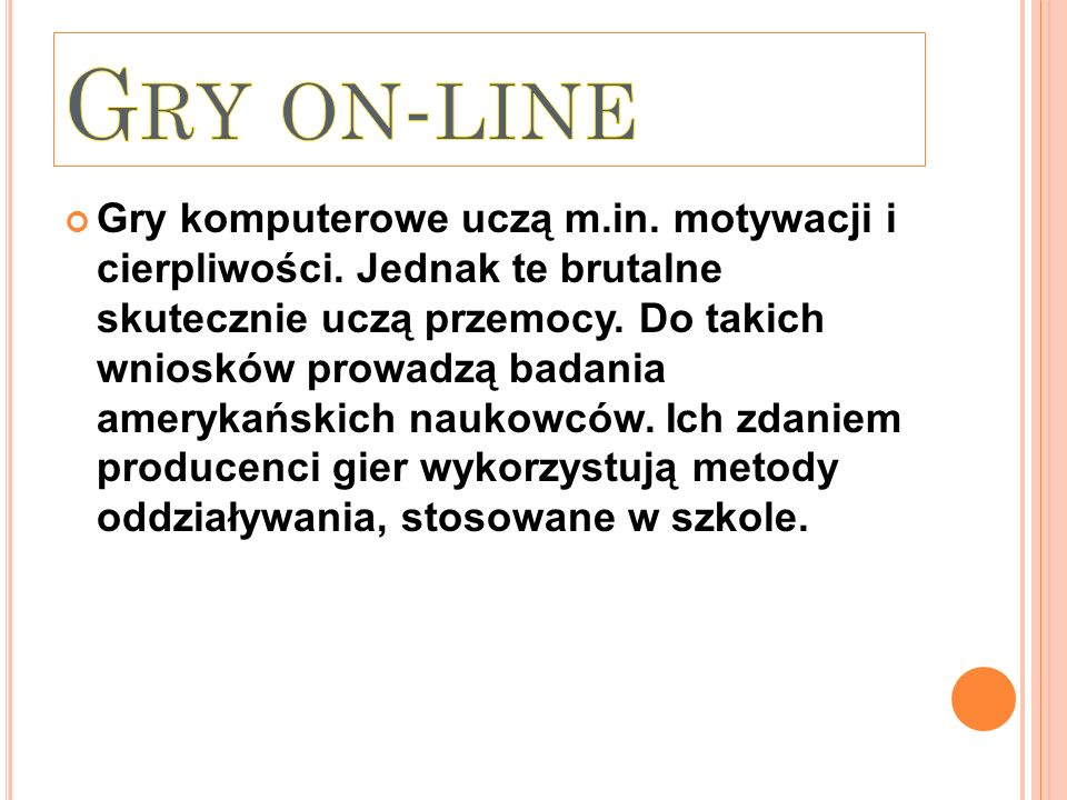Gry on-line