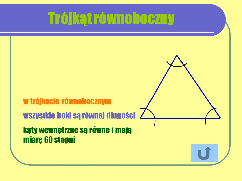 Trójkąt równoboczny w trójkącie równobocznym