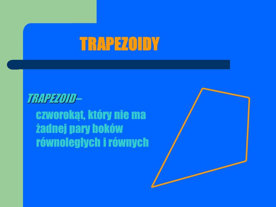 TRAPEZOIDY TRAPEZOID –