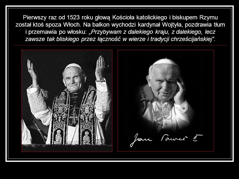 Pierwszy raz od 1523 roku głową Kościoła katolickiego i biskupem Rzymu został ktoś spoza Włoch.