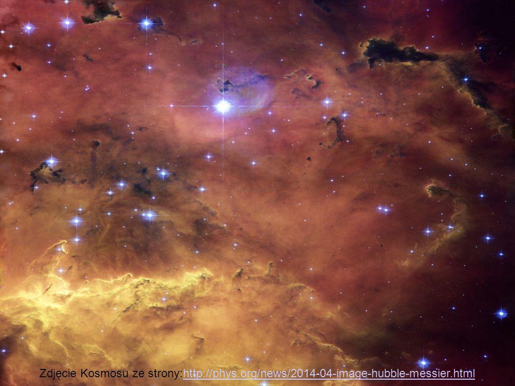 Zdjęcie Kosmosu ze strony:http://phys
