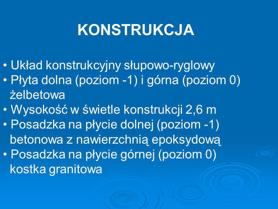 KONSTRUKCJA Układ konstrukcyjny słupowo-ryglowy