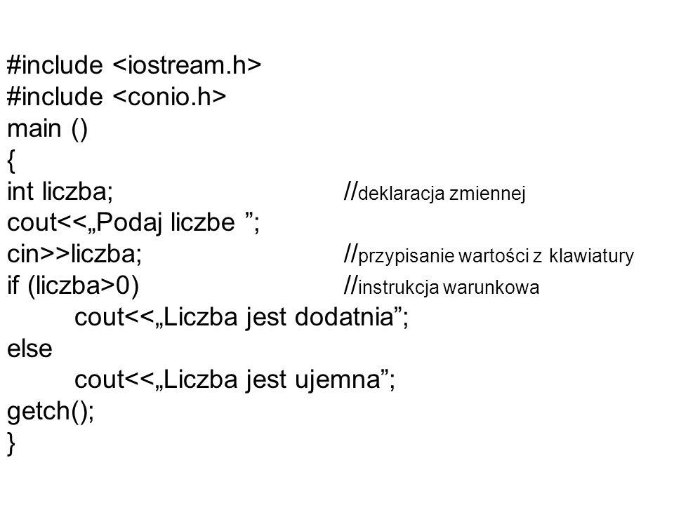 #include <iostream. h> #include <conio