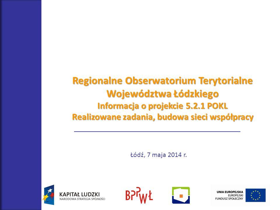 Regionalne Obserwatorium Terytorialne Województwa Łódzkiego