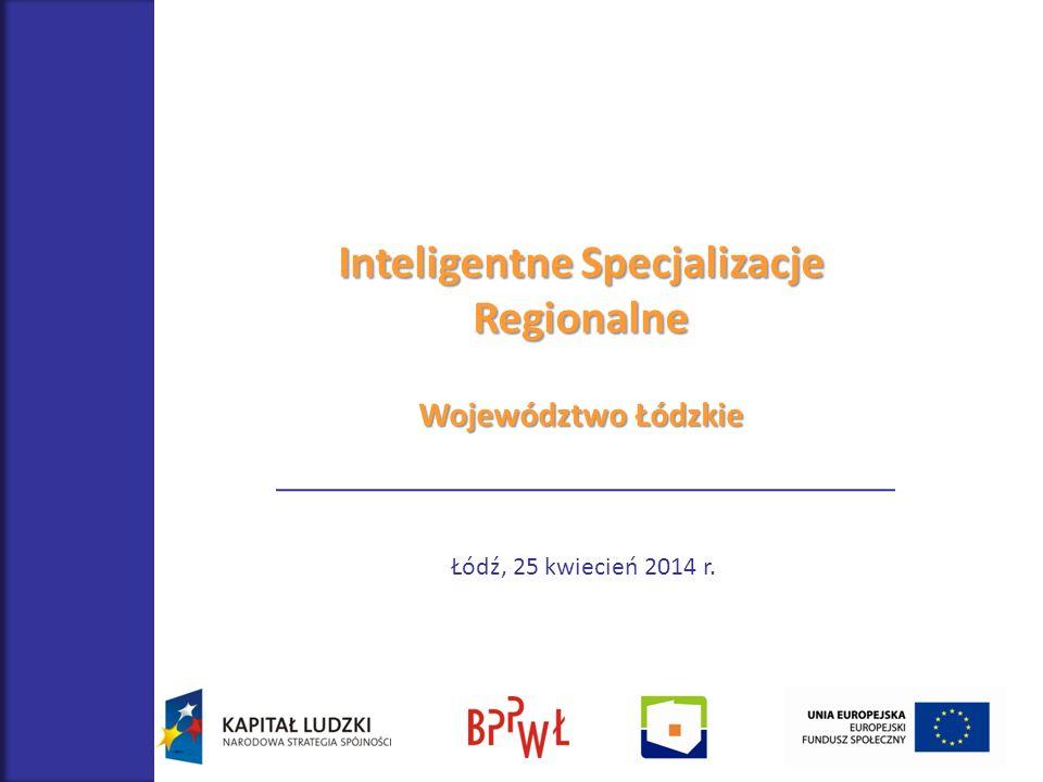Inteligentne Specjalizacje Regionalne