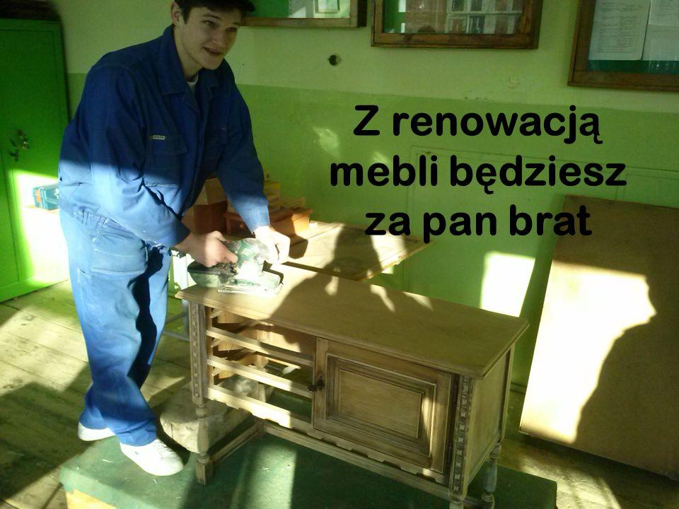 Z renowacją mebli będziesz za pan brat