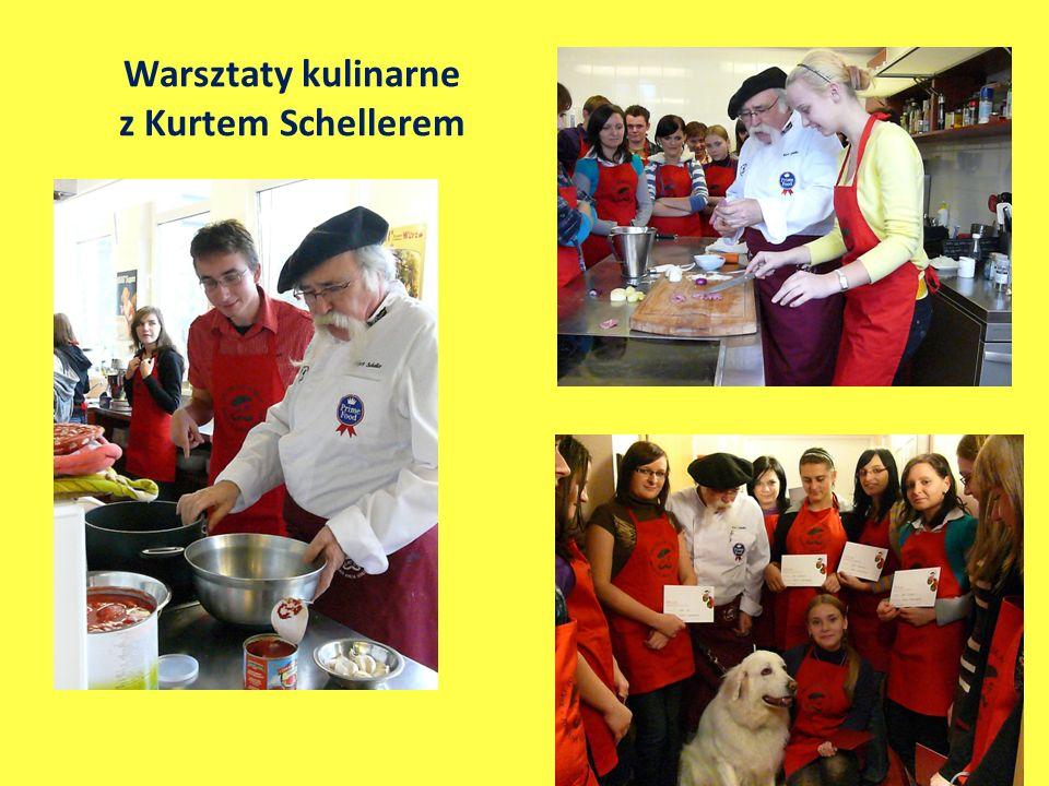 Warsztaty kulinarne z Kurtem Schellerem
