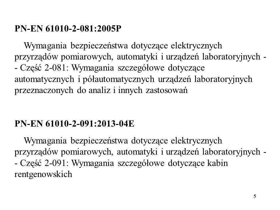 PN-EN 61010-2-081:2005P
