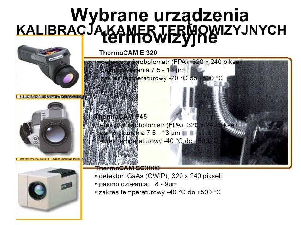 Wybrane urządzenia termowizyjne