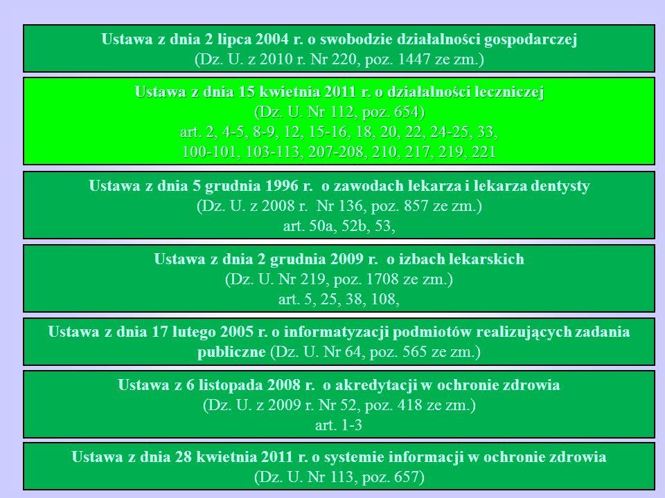 Ustawa z dnia 2 lipca 2004 r. o swobodzie działalności gospodarczej
