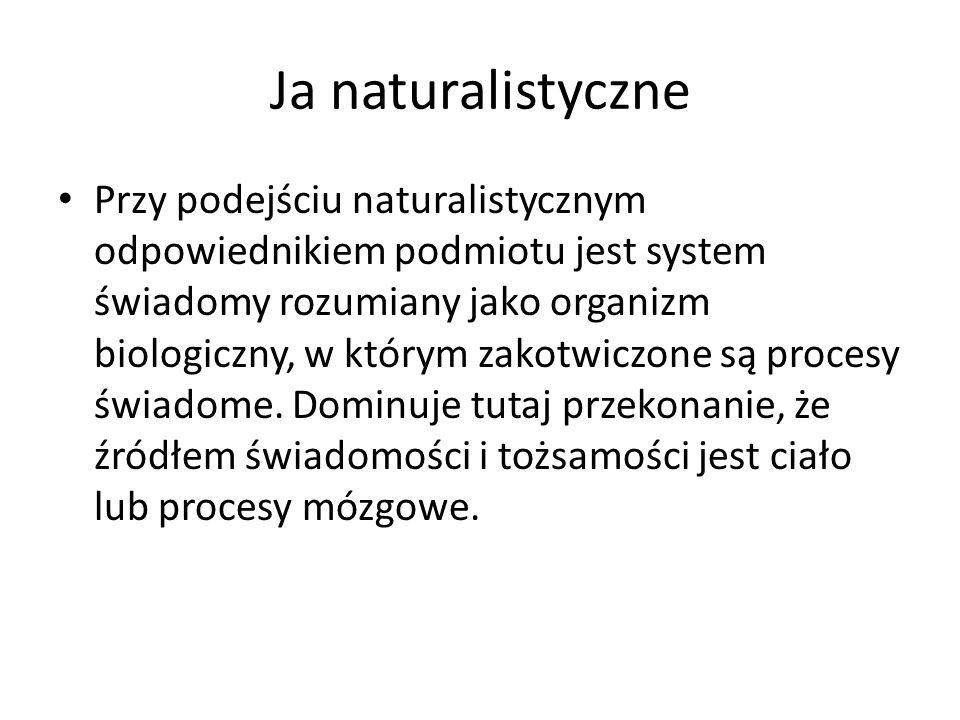Ja naturalistyczne