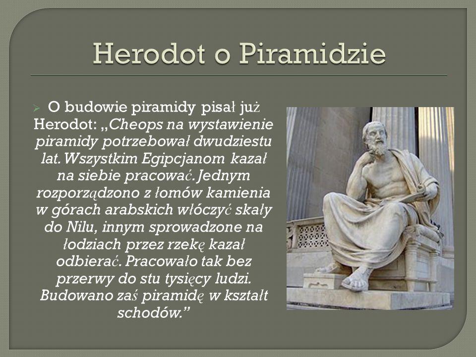 Herodot o Piramidzie