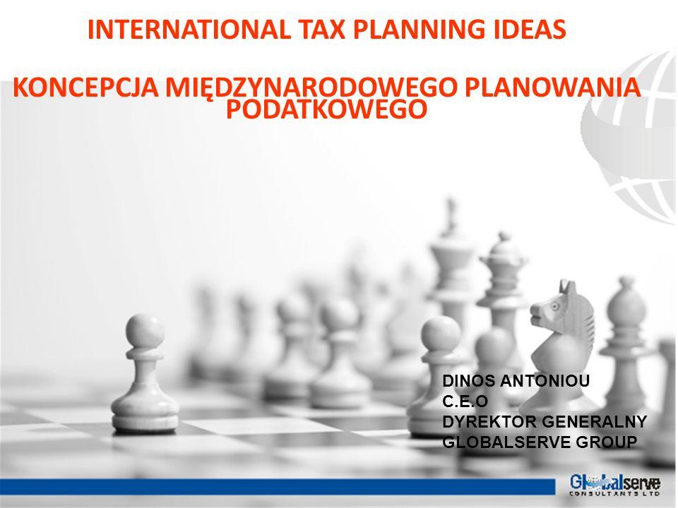 INTERNATIONAL TAX PLANNING IDEAS