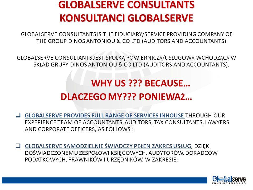GLOBALSERVE CONSULTANTS KONSULTANCI GLOBALSERVE