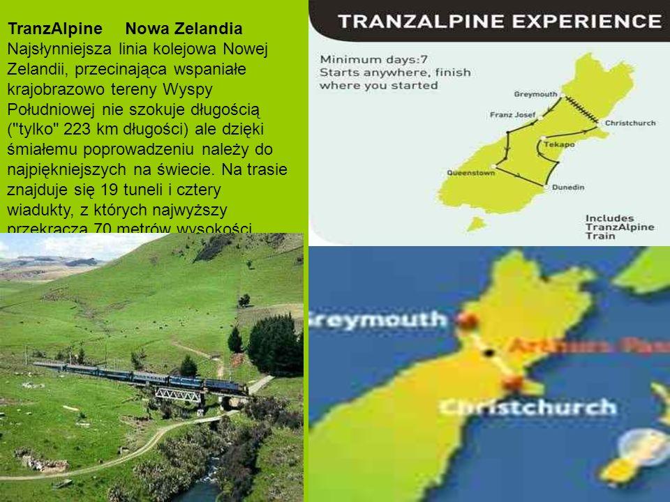 TranzAlpine Nowa Zelandia