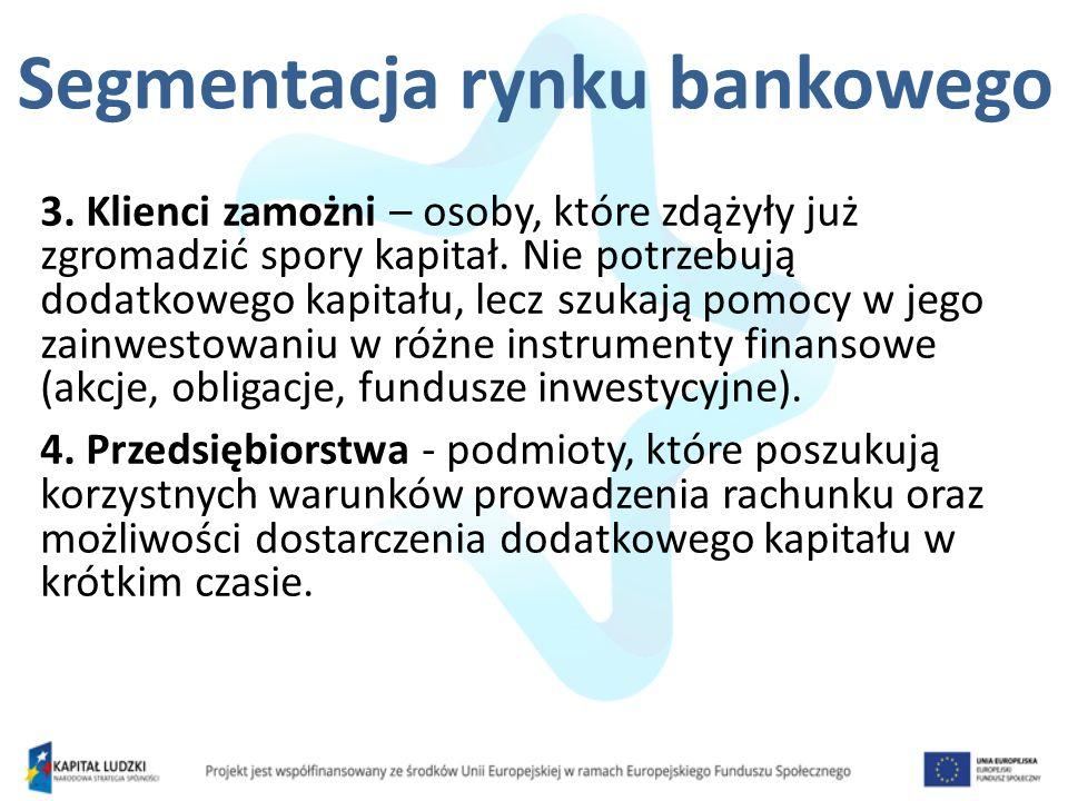 Segmentacja rynku bankowego