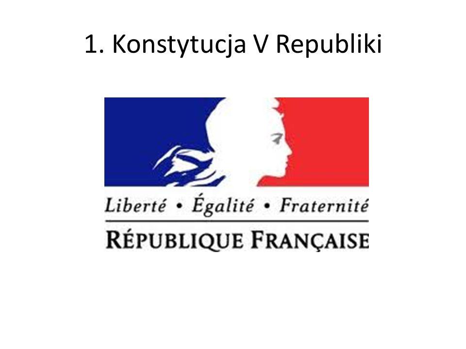 1. Konstytucja V Republiki