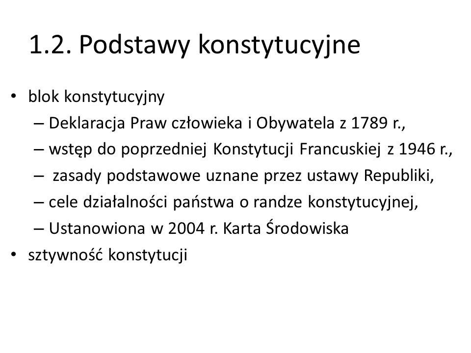 1.2. Podstawy konstytucyjne