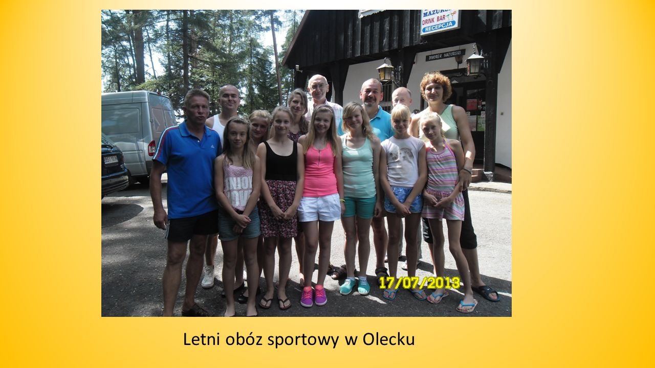 Letni obóz sportowy w Olecku