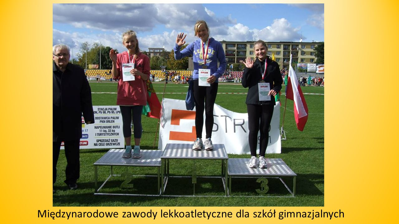 Międzynarodowe zawody lekkoatletyczne dla szkół gimnazjalnych