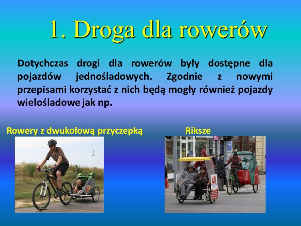 1. Droga dla rowerów
