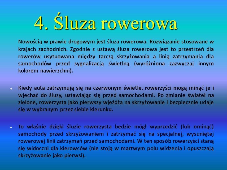 4. Śluza rowerowa