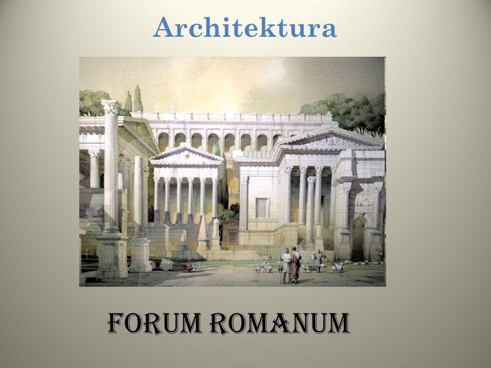 Architektura Forum RomanuM