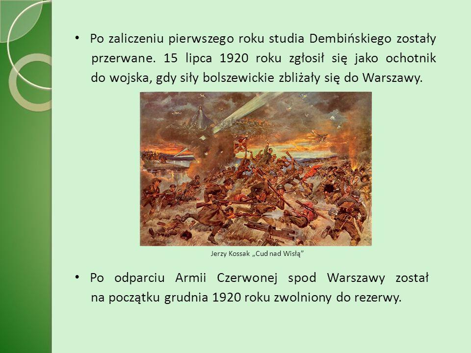 """Jerzy Kossak """"Cud nad Wisłą"""