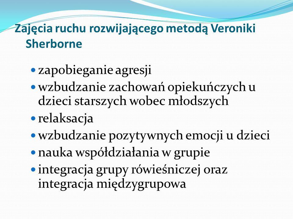 Zajęcia ruchu rozwijającego metodą Veroniki Sherborne