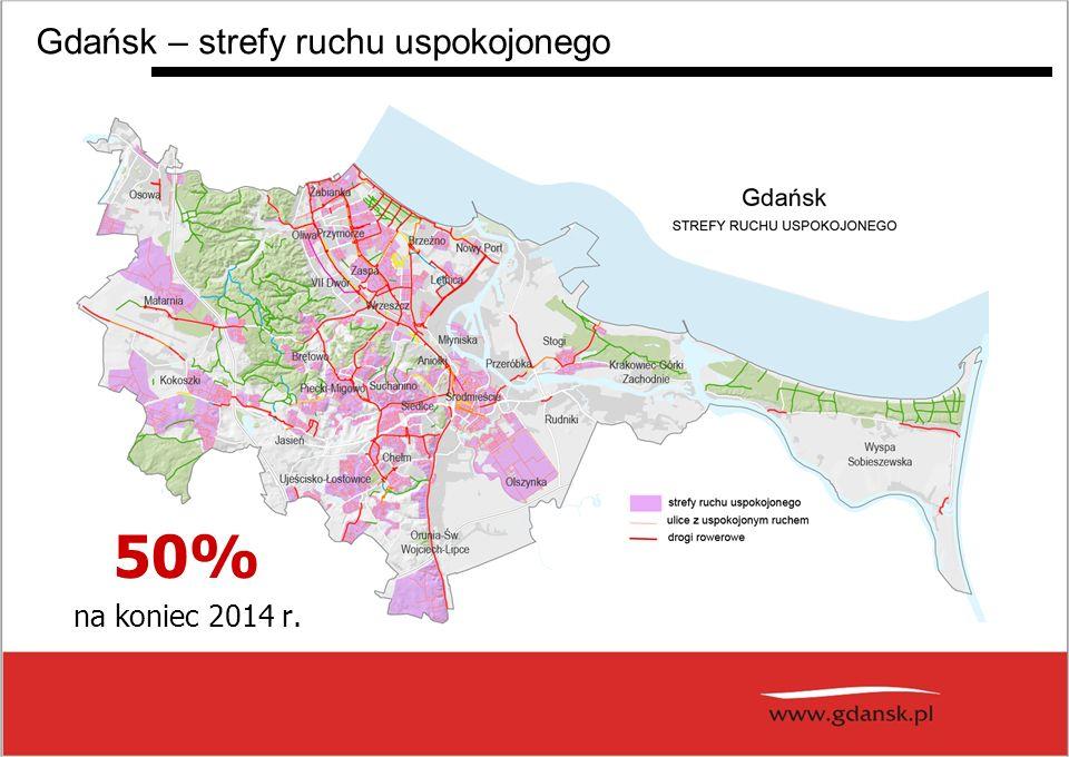 Gdańsk – strefy ruchu uspokojonego