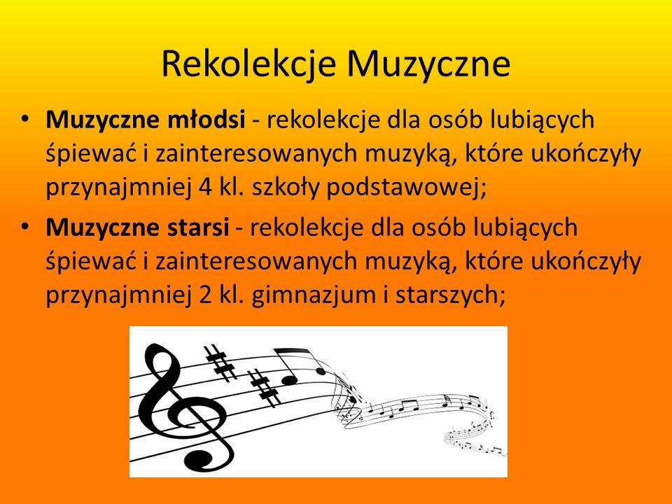 Rekolekcje Muzyczne
