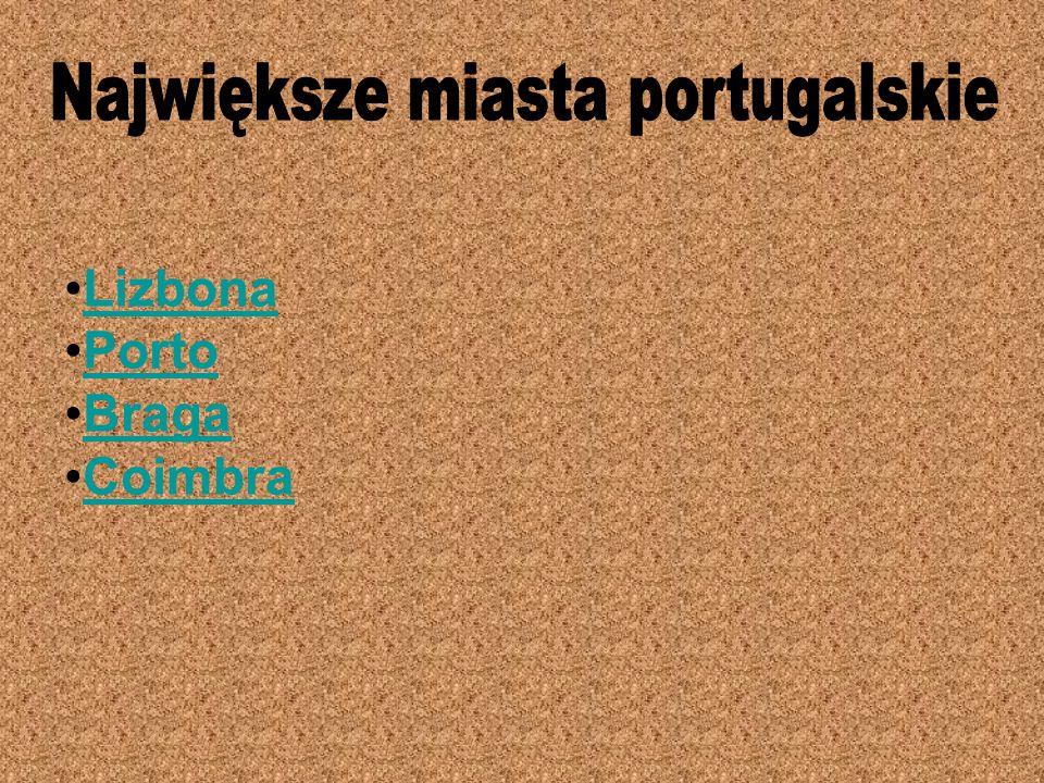 Największe miasta portugalskie