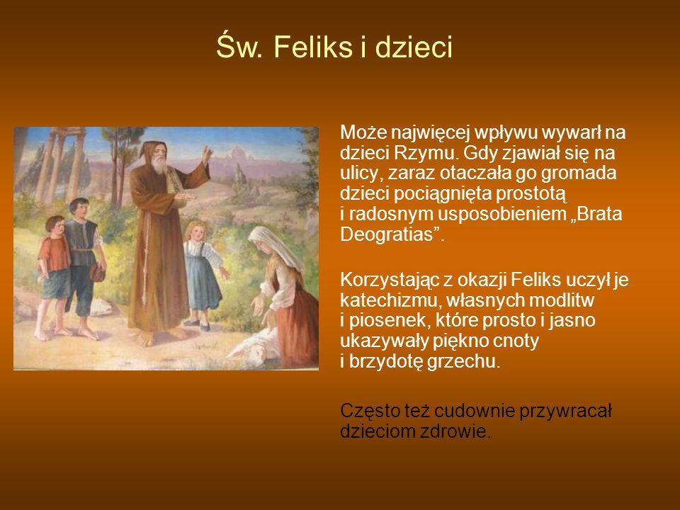 Św. Feliks i dzieci