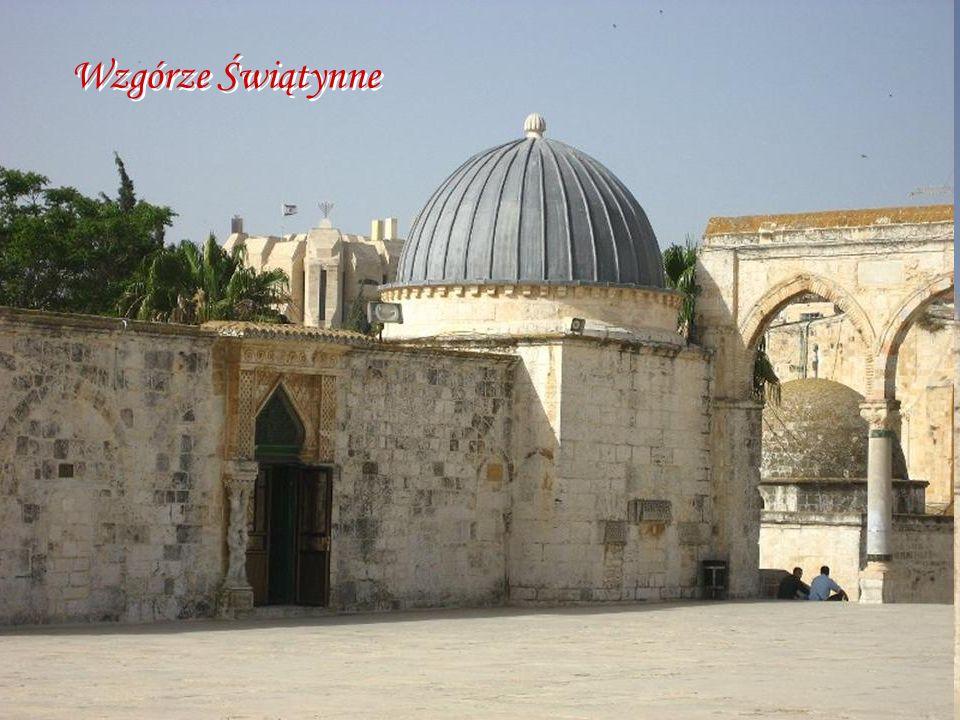 Wzgórze Świątynne wzgorze swiatynne (Temple Mount), Jerozolima, Izrael