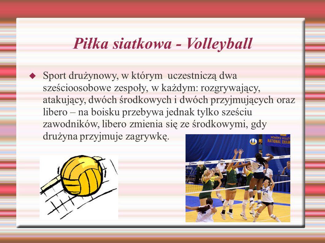 Piłka siatkowa - Volleyball