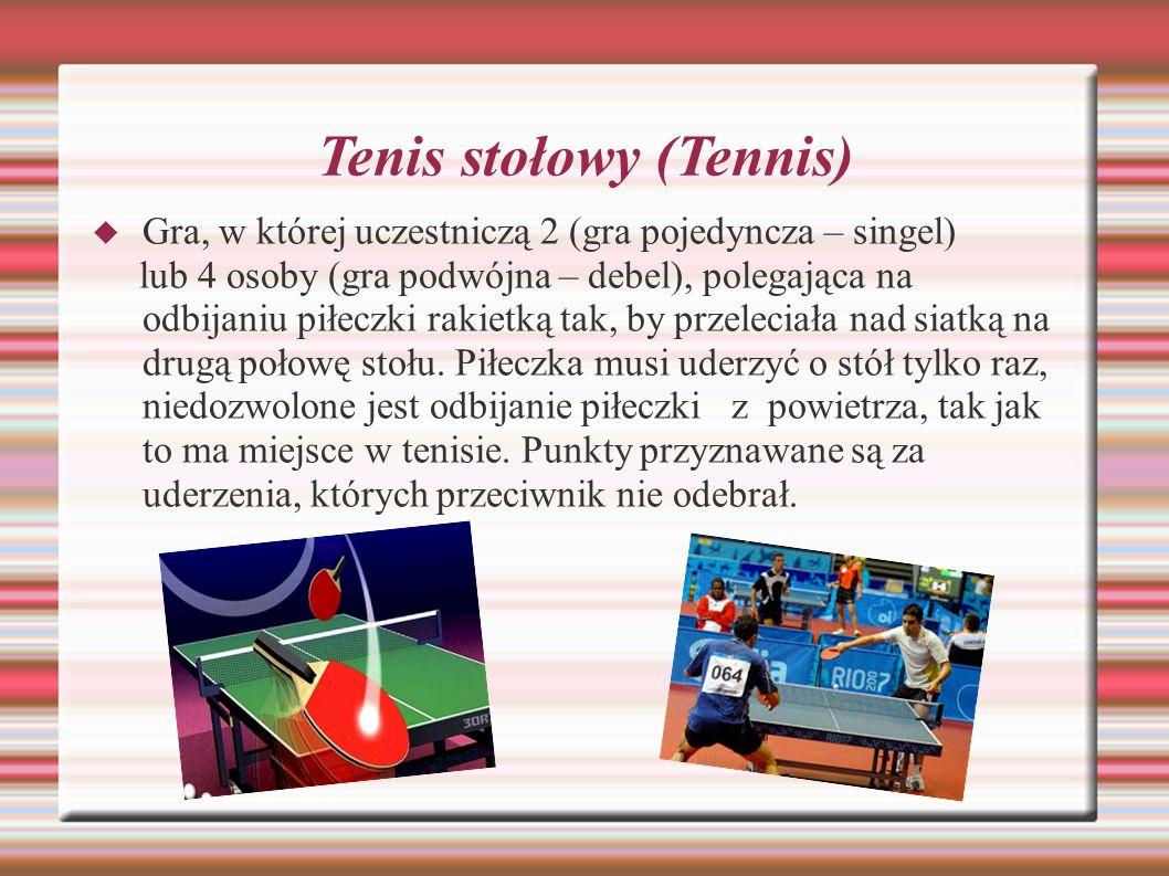 Tenis stołowy (Tennis)