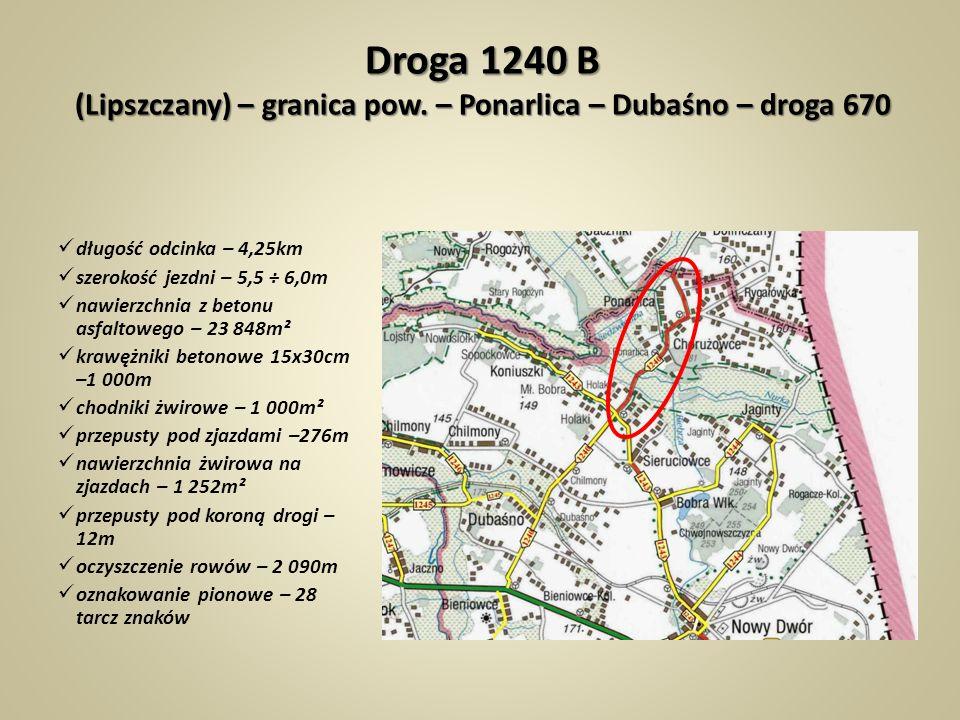 Droga 1240 B (Lipszczany) – granica pow