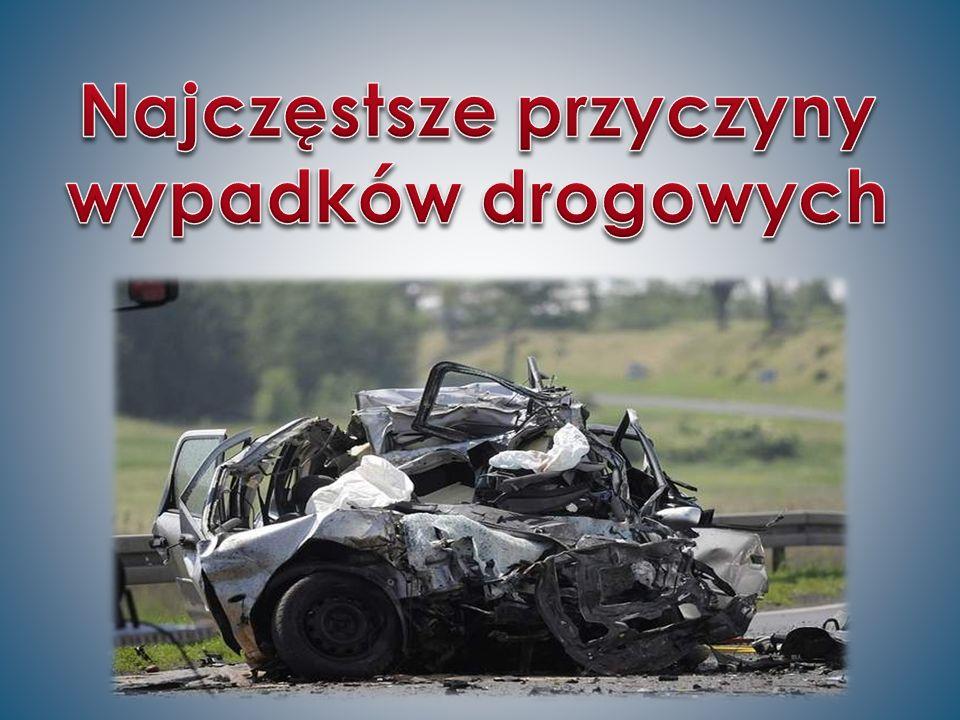 Najczęstsze przyczyny wypadków drogowych