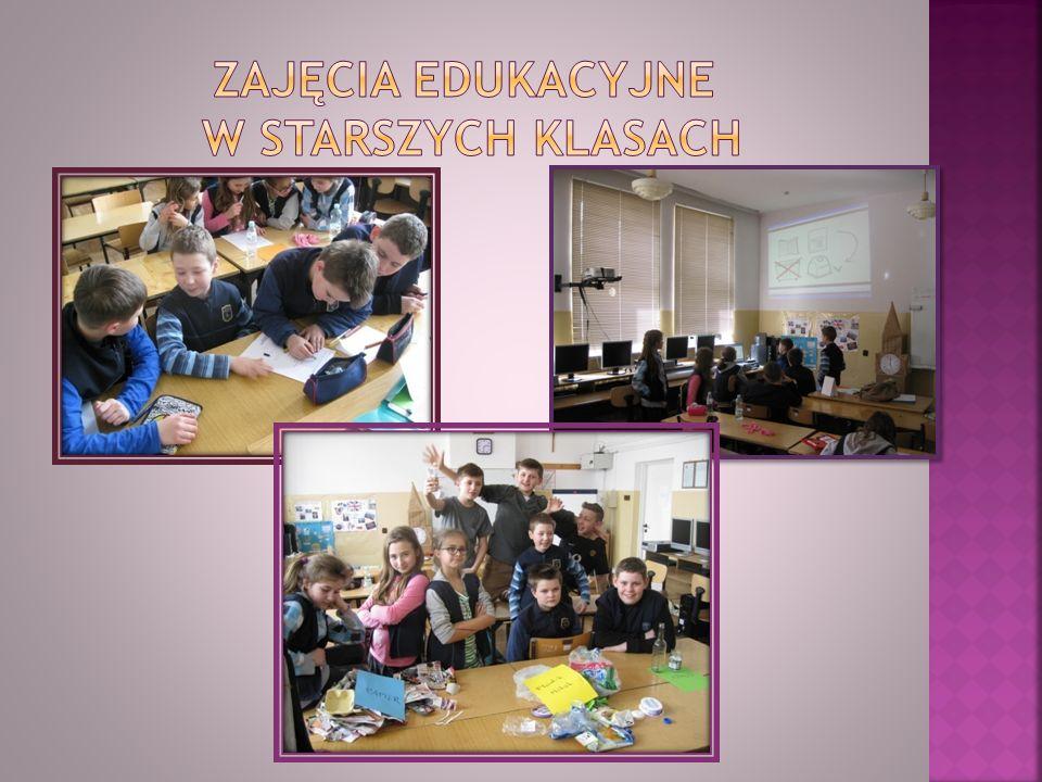 Zajęcia edukacyjne w starszych klasach