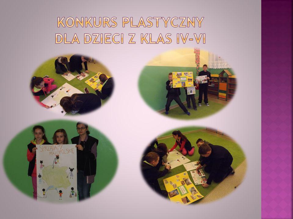 Konkurs plastyczny Dla dzieci z klas Iv-VI