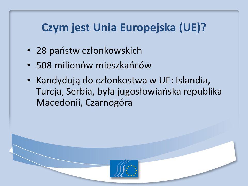 Czym jest Unia Europejska (UE)