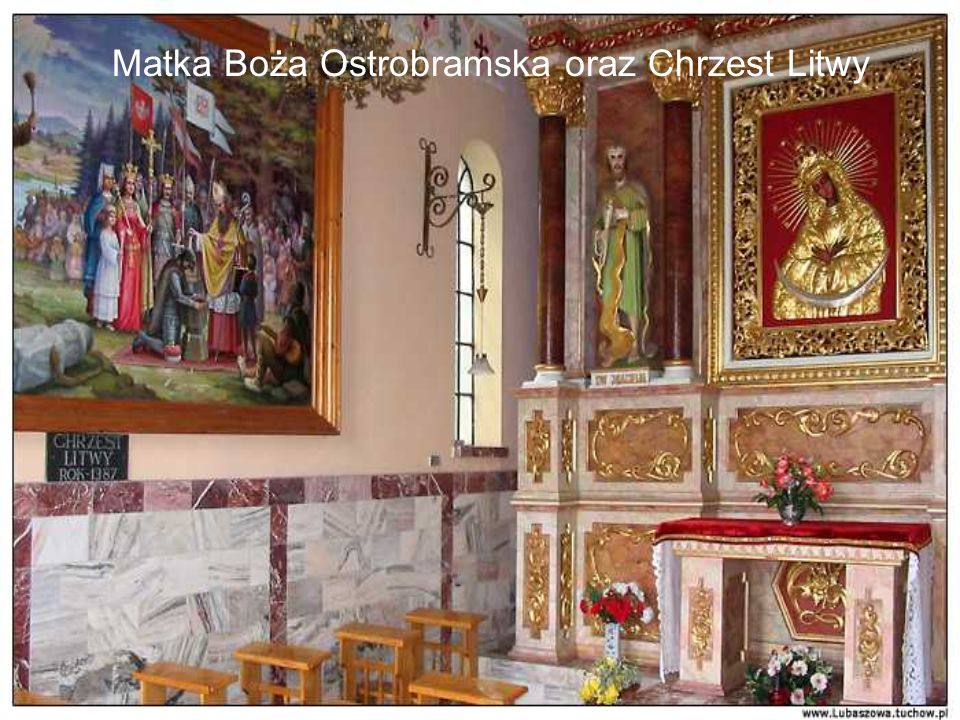 Matka Boża Ostrobramska oraz Chrzest Litwy