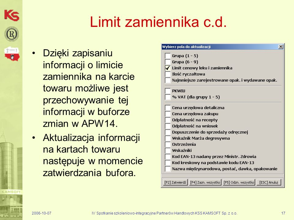 Limit zamiennika c.d.