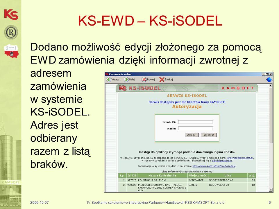 KS-EWD – KS-iSODEL