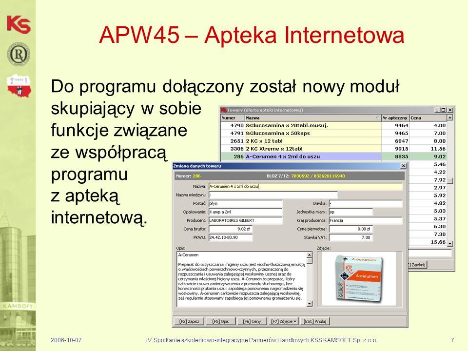 APW45 – Apteka Internetowa