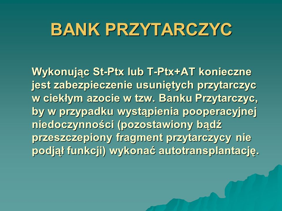 BANK PRZYTARCZYC