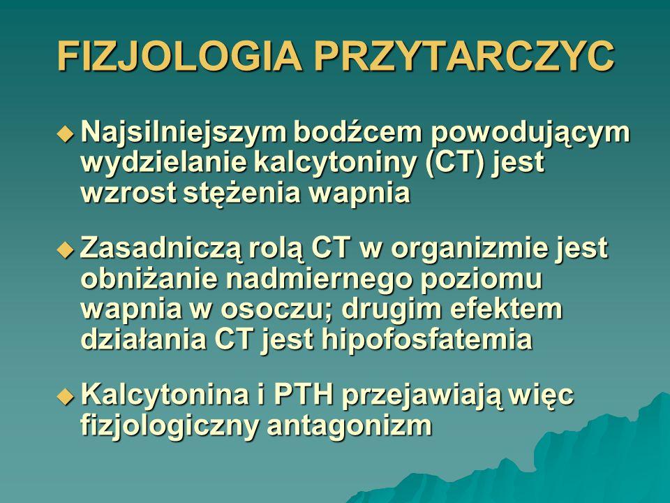 FIZJOLOGIA PRZYTARCZYC