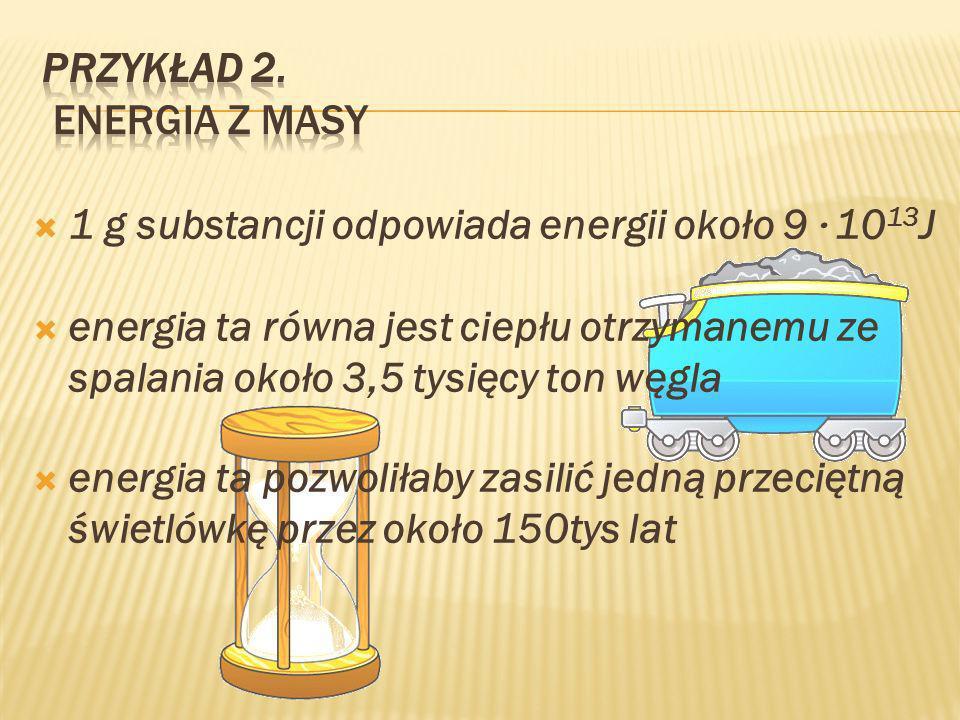 Przykład 2. Energia z MASY